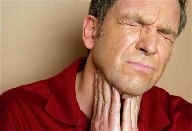 Боль при глотании