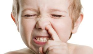 Зуд в носу у ребенка
