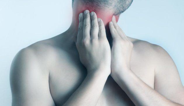 Боль в области околоушных слюнных желез