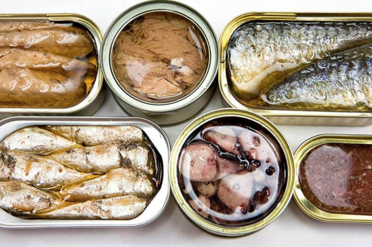 Симптомы отравления консервами рыбными