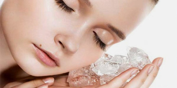 Целебные свойства льда для омоложения кожи