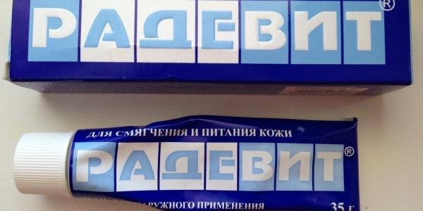Мазь Радевит: инструкция по применению против морщин