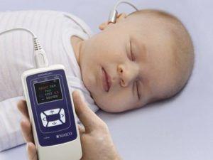 Как определить слух у новорожденного