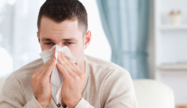 Почему из носа течет гной