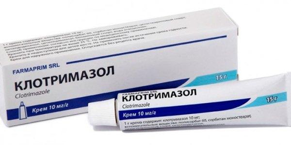 Клотримазол — эффективное средство от лишая