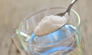 Содово-водяной раствор для ингаляции