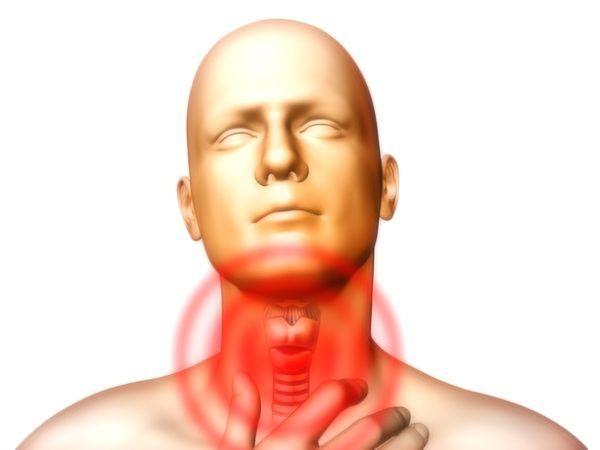Дискомфорт в области горла