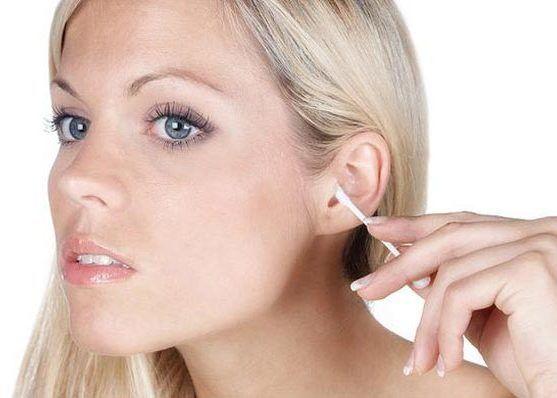 Соблюдение гигиены ушных раковин