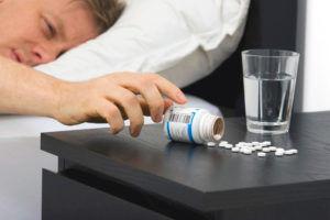 Передозировка снотворных и транквилизаторов
