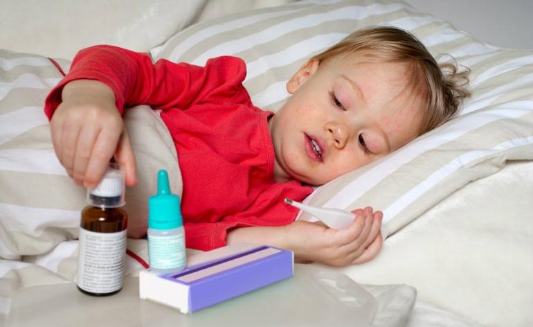 Высокая температура при отравлении у ребенка