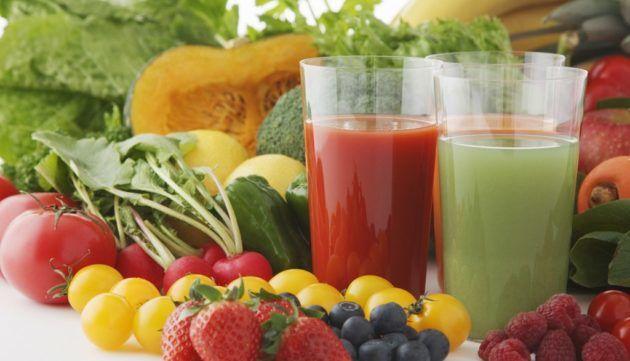 Овощные соки для горла