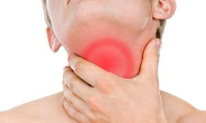 Боли в горле при глотании