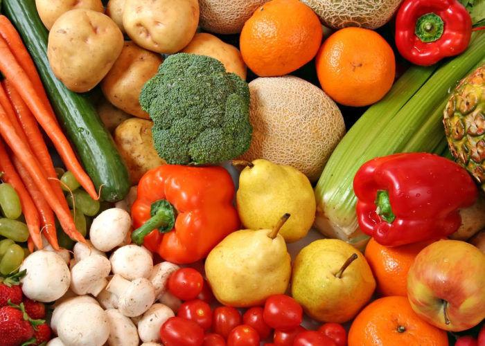 Отказ от твердых фруктов и овощей