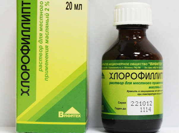 Масло хлорофиллипта