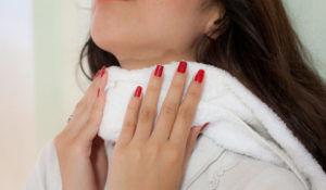При воспалении лимфоузлов эффективно помогают компрессы