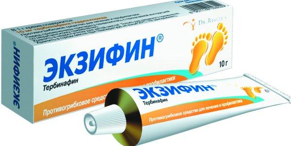 Применение крема Экзифин против грибка и лишая