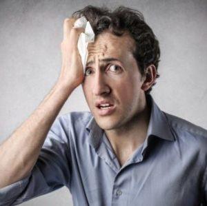 Гипергидроз лица и головы: причины и лечение