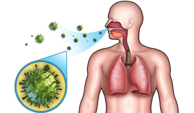 Передача болезни происходит с мельчайшими капельками слюны, которые выделяются больным человеком во время разговора