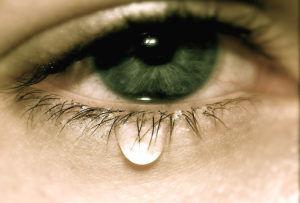 Сильное слезотечение