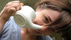 Солевой раствор в нос