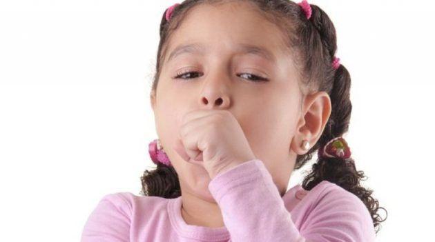 Безостановочный кашель у ребенка