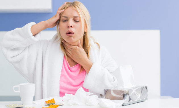 Cухой кашель