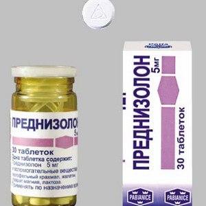 Преднизолон: принцип действия и назначение препарата при крапивнице и экземе