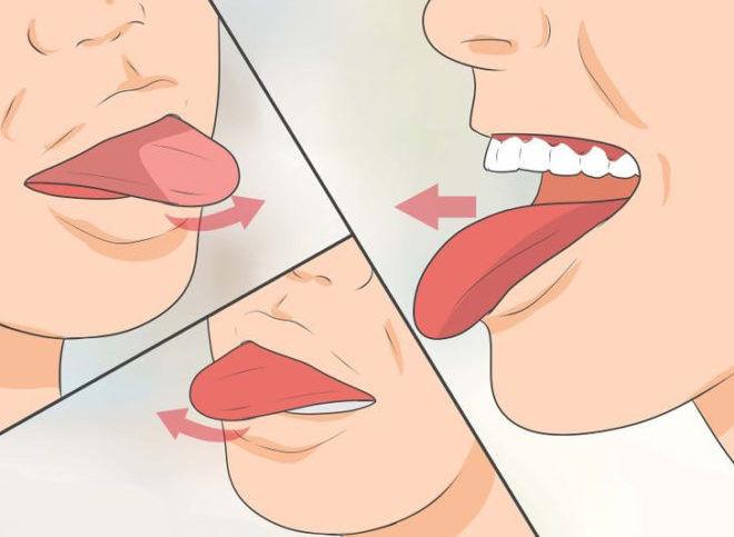 Упражнения с языком для избавления от храпа