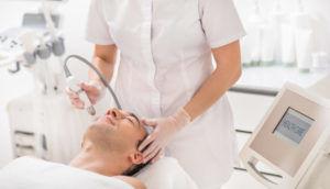 Процедура физиотерапии при заболевании тройничного нерва