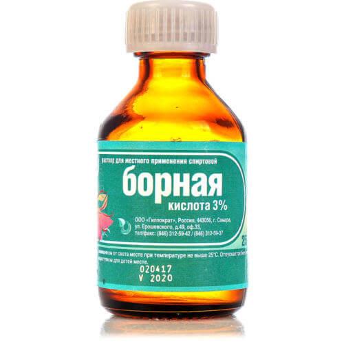 Отравление борной кислотой у человека симптомы