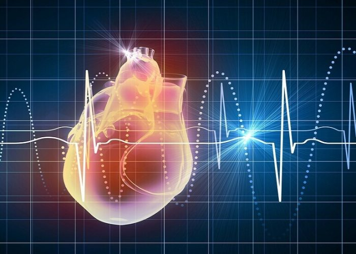 Увеличении частоты ударов сердца