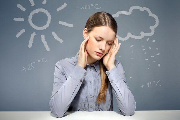 Резкое изменение погоды может вызвать заложенность в ушах