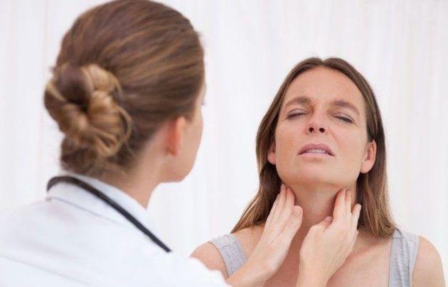 Боль при пальпации лимфатических узлов