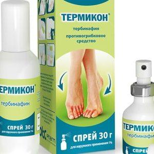 Спреи от грибка на коже и ногтях: обзор и сравнение препаратов