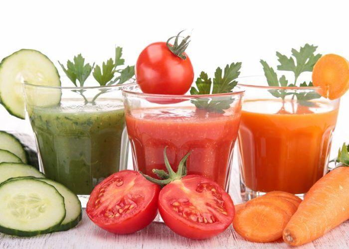 Овощные и фруктовые разбавленные соки