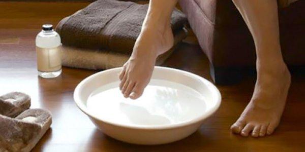 Ножные ванны с яблочным уксусом