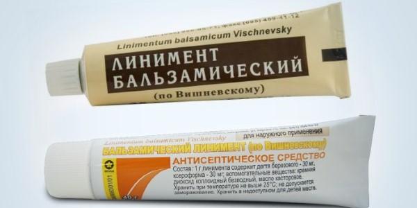 Применение мази Вишневского при дерматитах и экземе