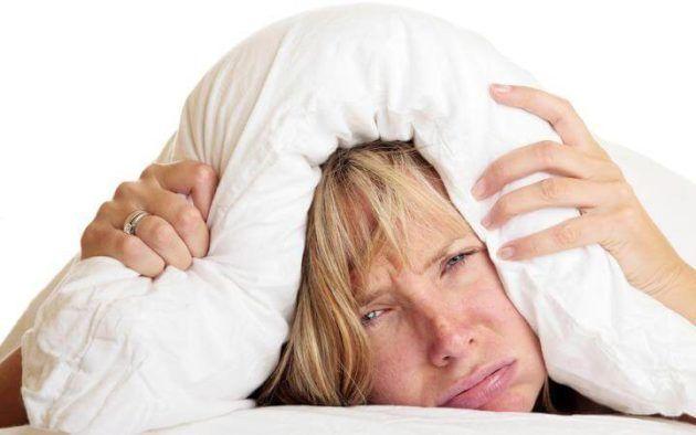 Плохой сон из-за писка в ушах на второй стадии