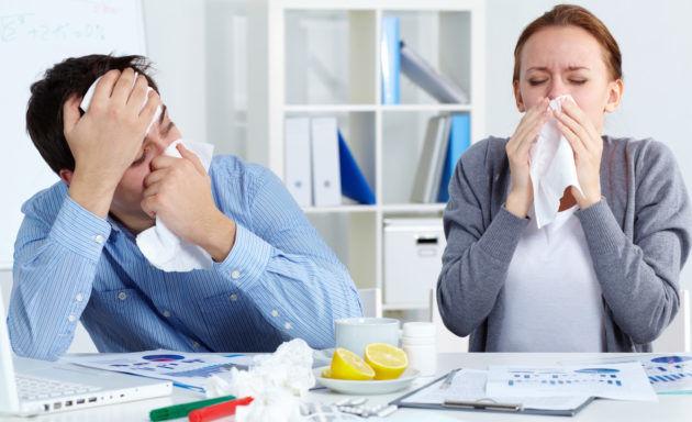 Инфекционный насморк