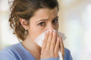 Появление аллергических реакций