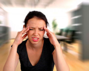 Ушиб носа может вызвать головокружение